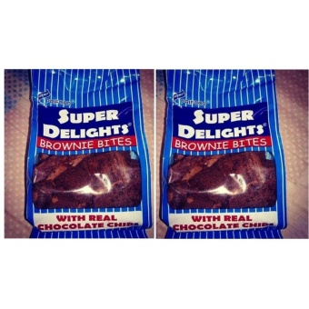 Super Delights Baked Goodies Brownies 2 packs