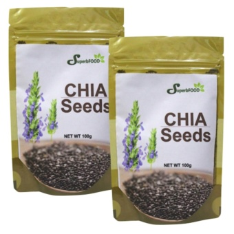 Superbfood Chia Seeds 100 grams Set of 2