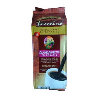 Teeccino Herbal Coffee Alternative, Almond Amaretto, Caffeine Free