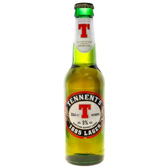 Tennent's Scottish Lager Beer 1885 330ml (24 bottles)