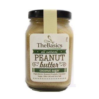 TheBasics Coconut Sugar Peanut Butter