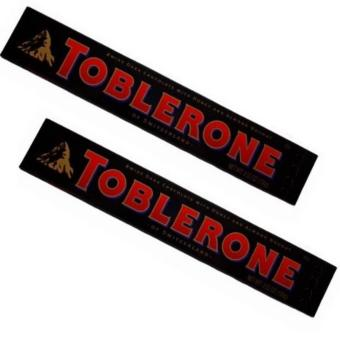 Toblerone Dark Chocolate with Honey and Almond 50g - Set of 2