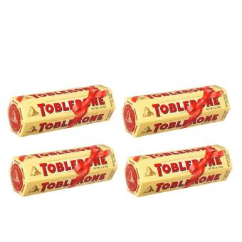 Toblerone Milk Chocolate with Honey and Almond (6x50g) - Set of 4
