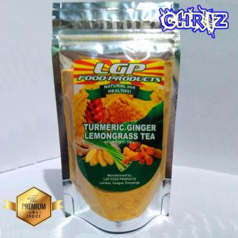 Turmeric Ginger Lemongrass Tea Pouch 150 grams
