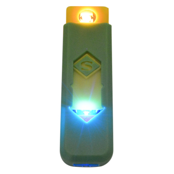USB Electronic Cigarette Lighter (Green)