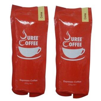 VGV Puree Coffee Espresso Premium 250 Grams Bundle of 2(…)