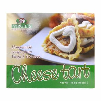Virgie's Homemade Products Cheese Tart 115g 10pcs