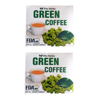 Vita Herb Green Coffee 10 sachets Set of 2