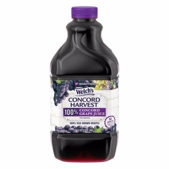 Welch's 100% Concord Grape Juice, 64 fl oz
