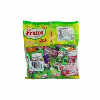 Yellow Green Colombia's Frutos Jelly Filled Chewy Candy 2n1 50pcs160g 3's 808784 w51 (MP) - 3