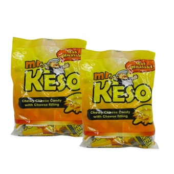Yellow Mr. Keso Chewy Chees Candy w/ Cheese Filling 110g 343464 2'sw42 MP