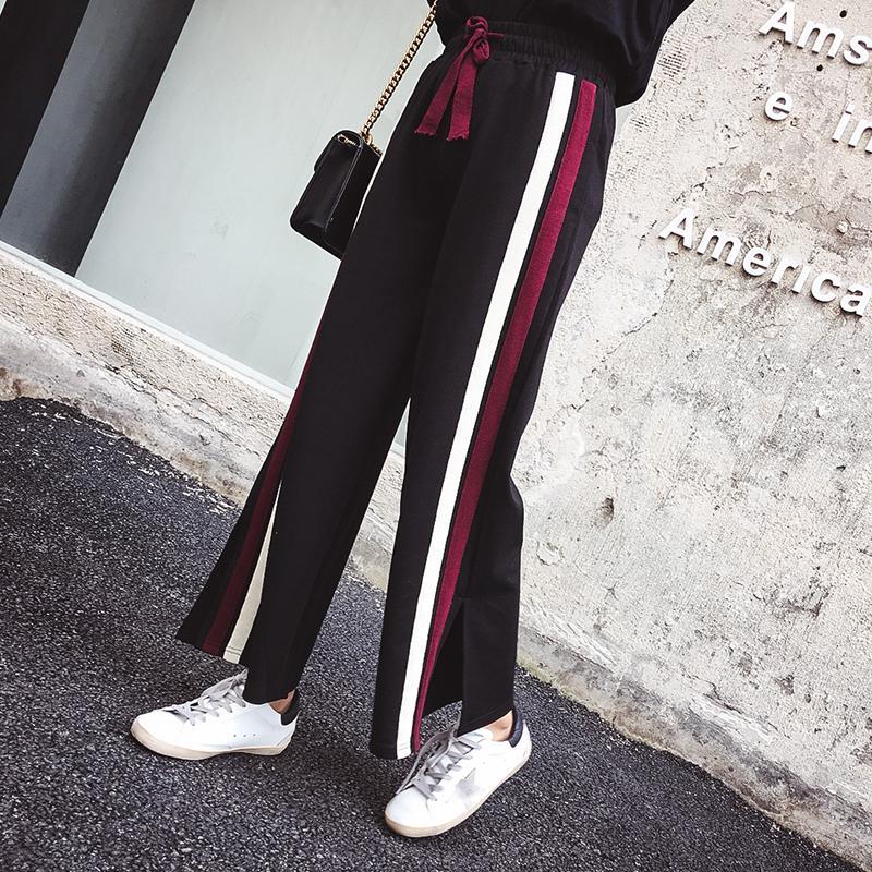 ... Denim Biru Source Cek Harga 2018 Musim Gugur Musim Dingin. Source · Ukuran besar motif garis celana semata kaki perempuan longgar 200 pound mm Gaya ...