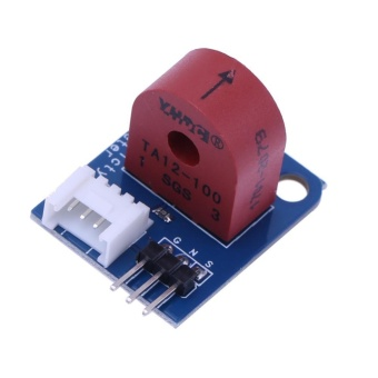 0-5A Analog Current Meter AC Ammeter Sensor Board for Arduino UNOPIC AVR (Red) - intl
