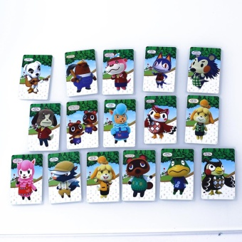 0 shipping fee 16Pcs Animal Crossing: New Leaf -Welcome Amiibo Series Amiibo Card NFC - intl
