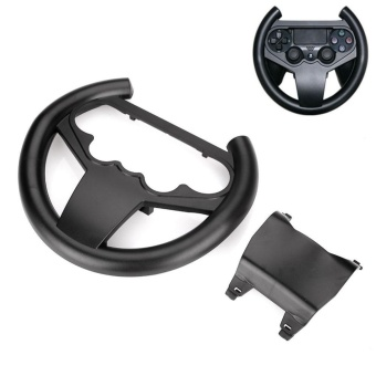 0 shipping fee Steering Wheel Game Remote Sets Circle Controller For PS4 Racing Car Driving - intl