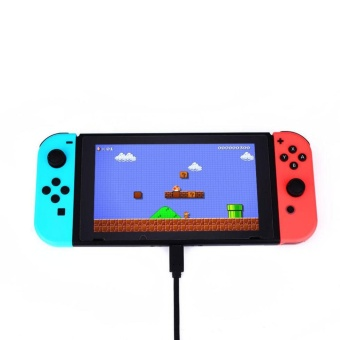 0 shipping fee Type C Charger Charging Data Transmission Extension Cable For Nintendo Switch - intl - 2
