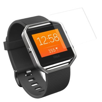 0.3mm HD Tempered Glass Screen Protector for Fitbit Blaze (Arc Edge) - intl