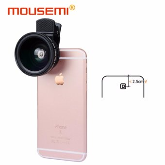 0.45x Macro Wide Angle Lens 37mm Clip HD Definition Camera CellMicroscope Mobile Phone Lens For iphone 5 6s 7 Smartphone Lenses -intl