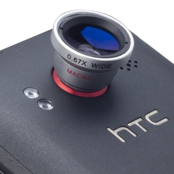0.67X Wide Angle Macro Lens for Smartphones DC072-SZ (Black) - picture 2