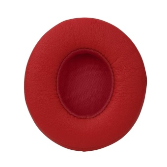 1 Pair Protein Leather Replacement Ear Pads for Monster Beats SOLO 2.0 RD - intl