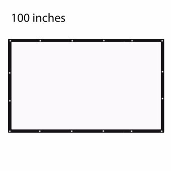 100 inch 16:9 Portable Tabletop Projector Screen - intl