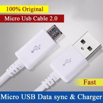100% Original Micro USB Cable Fast Charger for Samsung Galaxy S4 S6S7 Note 4 5 Mircro usb Data Cable 1.5m for xiaomi Redmi 3 Meizu 3(Black)
