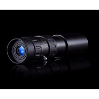 1000 Times HD High Times Single Tube Telescope Aluminium Alloy 5000 Meters Range Theatre Monocle Hunting Monocular - intl - 5