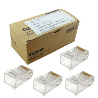 100pcs AMP Tyco RJ45 Connector Network Cat5 Price Philippines