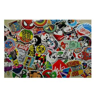 100pcs random vinyl decal graffiti sticker bomb laptop waterproof stickers