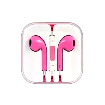 105Db In-Ear Headset For Smartphones (Pink)