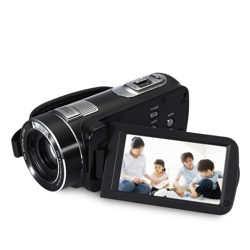 1080P 5MP Video 120X Digital Zoom Camera Camcorder 3.0 inch TFTTouch Screen Recorder - intl