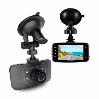 1080P HD Dash Cam Car DVR GS8000L Traveling Driving Data Recorder Camcorder Vehicle Camera Night Vision Dashboard Camera With 120 Degree Angle View Black - intl