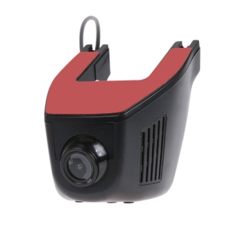 1080P HD Hidden WiFi Car DVR Video Recorder Dash Cam (Black)-A5-D - intl