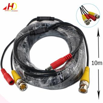 10m BNC Video Power Siamese Cable for Surveillance CCTV Camera Accessories DVR Kit