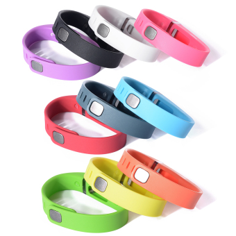 10pcs Replacement Wrist Band Wristband for Fitbit Flex with ClaspsSmall Size (Multicolor) HB141 - 3