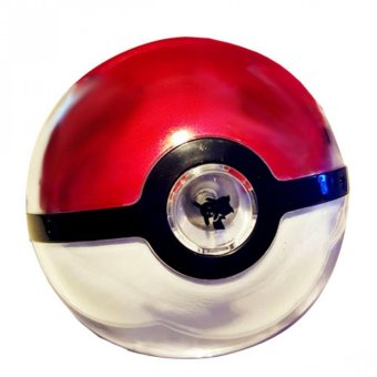 12000 mAh Pokemon Ball Powerbank With LED Projection Light (Red/White)