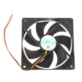 120mm 120x25mm 12V 3Pin DC Brushless PC Computer Case Cooling Fan -intl