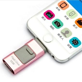 128GB i-Easy Drive Smart phone U Disk/3 in 1 Otg Usb Flash