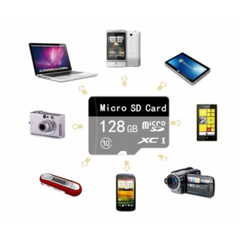 128GB Micro SD SDXC Memory Card High Speed 128gb Class 10 withMicro SD Adapter - intl - 3