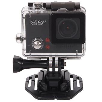 "1.5"" LCD Waterproof 1080P Wifi FHD 8.0 MP DV Action Sports mini Camera (Black) - intl"