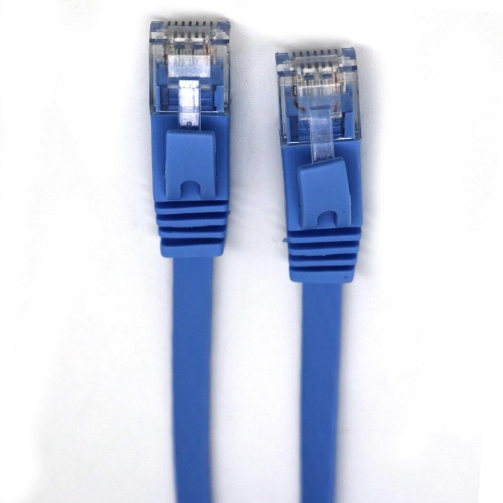 15M RJ45 CAT6 Ethernet Network LAN Cable Flat UTP Patch RouterInteresting Lot -