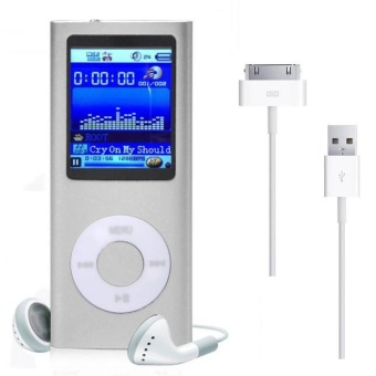 1.8'' 8GB MP3 MP4 Slim Digital LCD Screen FM Radio Music E-bookVideo Player SL - intl