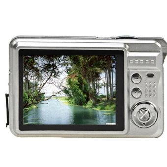 18 Mega Pixels CMOS 2.7 inch TFT LCD Screen HD 720P Digital Camera (Silver)