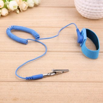 1.8M Wire Anti-Static PVC Wristband with Discharge Cables Wrist Strap - intl - 4
