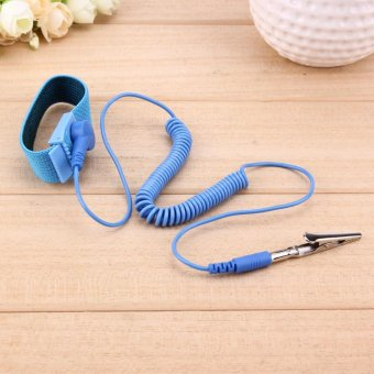 1.8M Wire Anti-Static PVC Wristband with Discharge Cables Wrist Strap - intl - 5