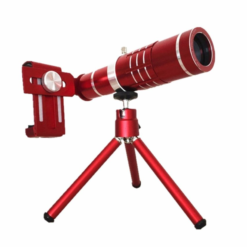 18X Zoom Mobile Phone Optical Zoom Camera Telephoto Lens TelescopeWith Mini Mount Tripod For Iphone For Samsung Universal Phone -intl