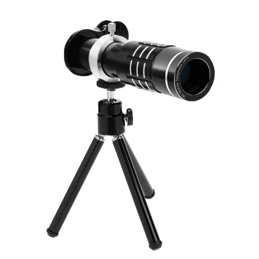 18X Zoom Phone Telescope Telephoto Camera Lens + Tripod + LensCover Mobile Phone Lens For smartphones Phones - intl