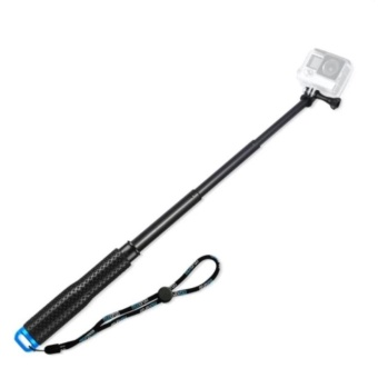 19'' inch Extension Monopod Tripod Selfie Stick Pole Handheld Bar for Gopro Hero 4 3 3+ 2 1 SJCAM Xiaomi Yi Action Camera