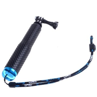 """19""""/49cm Adjustable Handheld Extension POV Pole for Gopro (Blue)"""