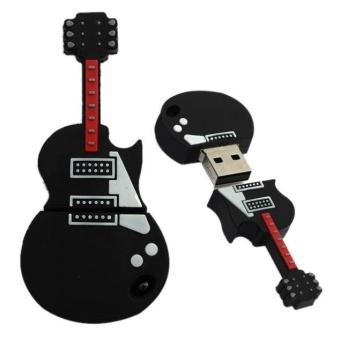 1GB Guitar USB 2.0 Metal Flash Memory Stick Storage Thumb U Disk -intl